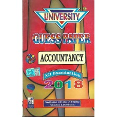 UNIVERSITY GUESS PAPER ACCOUNTANCY CLASS 12