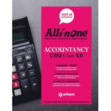 All in One ACCOUNTANCY CBSE Class 12th Paperback – 2017