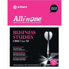 All in One BUSINESS STUDIES Class 11th Paperback – 2017