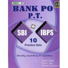 Bank PO P.T SBI IBPS 10 Practice Sets
