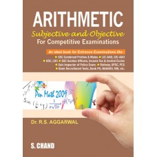 Arithmetic Subjective and Objective Competitive  exam