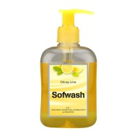 SOFWASH 3 IN 1 HAND WASH, SHOWER GEL & BUBBLE BATH - CITRUSY LIME (250 ML)
