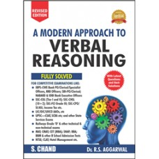 A MODERN APPROACH TO VERBAL  REASONING (R.S.AGGARWAL)